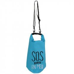 Grossiste sac de protection flottant 10L bleu