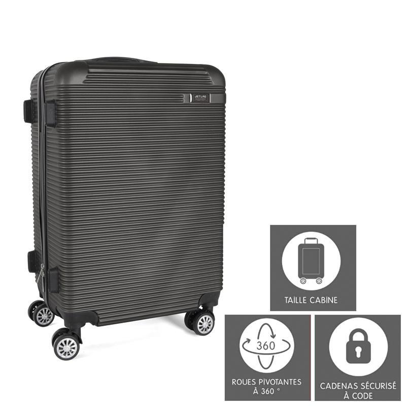 Grossiste valise cabine grise Tokyo 35L