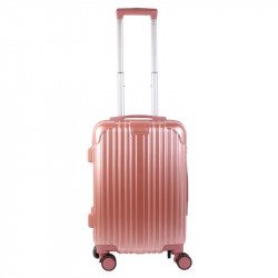 Grossiste valise cabine rose Paris 40L
