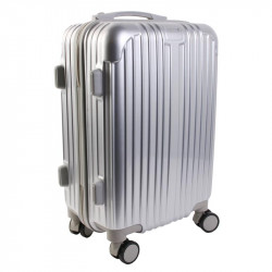 Grossiste valise cabine grise New-York 40L