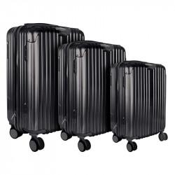 Valise noire Londres x3 40L...