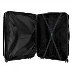Grossiste valise noire Londres x3 (40L - 65L - 100L)