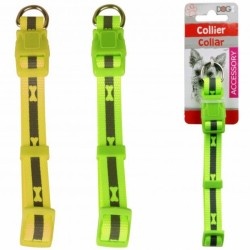 Reflective dog collar with...