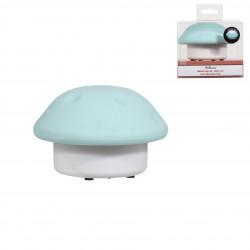 Grossiste lampe bleue en forme de champignon 11x7cm