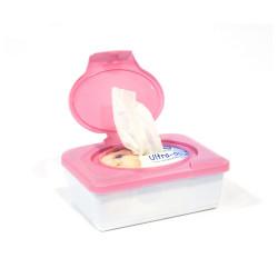 Grossiste boîte à lingettes rose