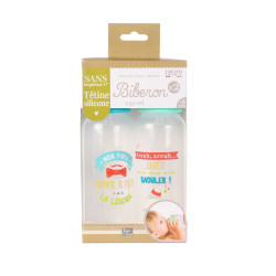 Grossiste biberon de 240ml x2 verts