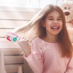 Grossiste brosse à cheveux pour enfant blanche