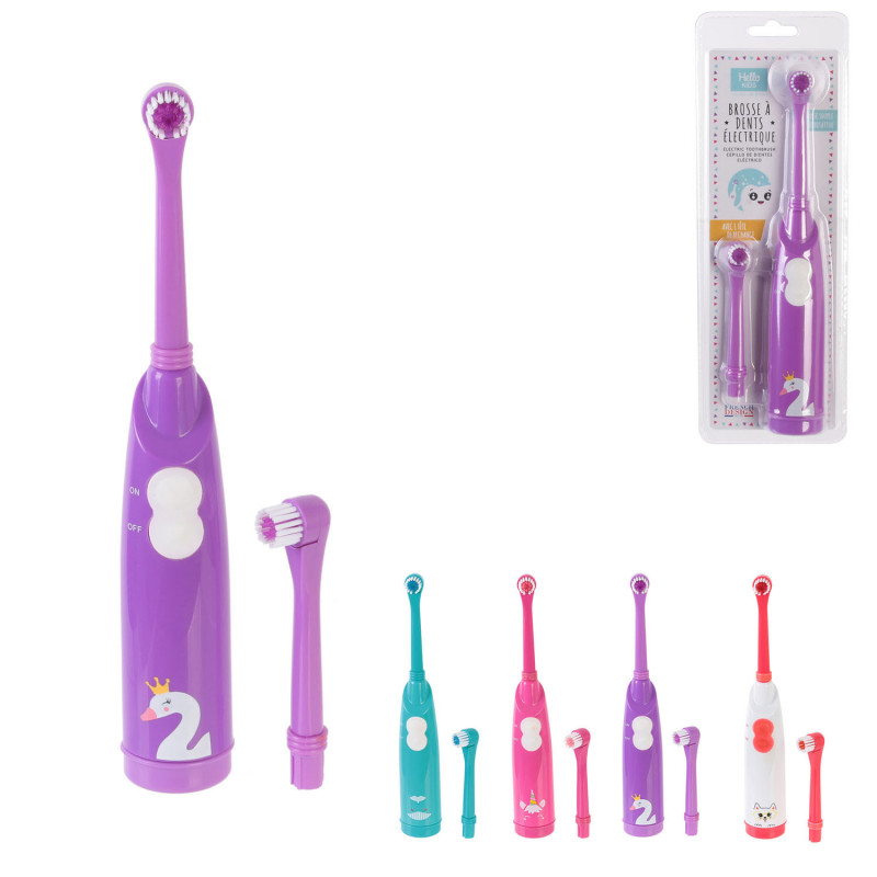 Grossiste brosse à dents électrique avec recharge pour enfant