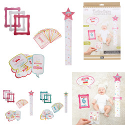 Grossiste cartes souvenirs 1ère année bébé