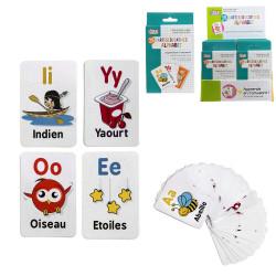 Grossiste carte éducative spécial alphabet x26