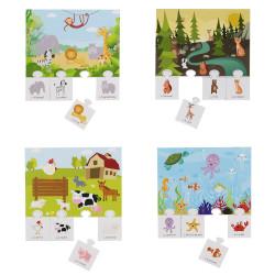 Grossiste jeu de mémoire éducatif spécial animaux x20