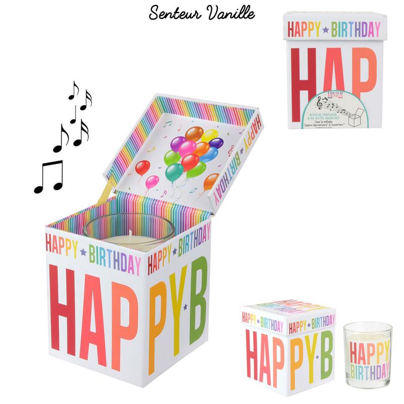 Grossiste bougie d'anniversaire musicale