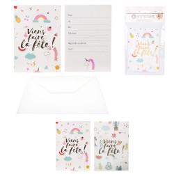 Grossiste carte d'invitation spécial anniversaire x6