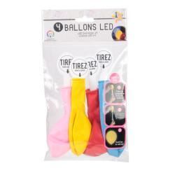 Grossiste ballon LED x4