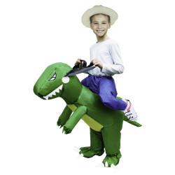 Grossiste déguisement gonflable en dinosaure pour enfant