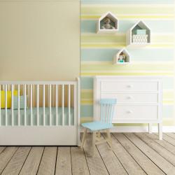 Grossiste chaise pour enfant bleue en bois