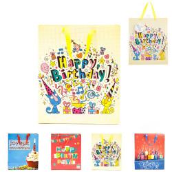 Grossiste sac joyeux anniversaire en papier