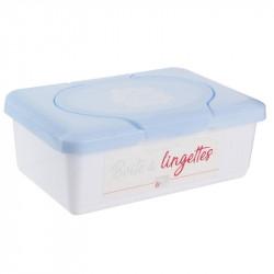 Grossiste boîte à lingettes bleue