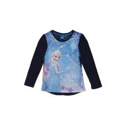 Grossiste t-shirt manches longues fille reine des neiges assortiment 3