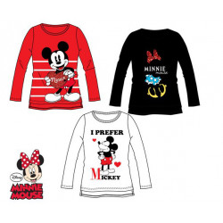 Grossiste t-shirt manches longues fille minnie