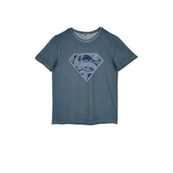 Grossiste t-shirt manches courtes superman pour homme assortiment 2