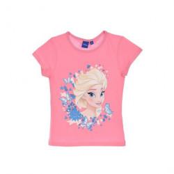 Grossiste t-shirt manches courtes reine des neiges assortiment 2