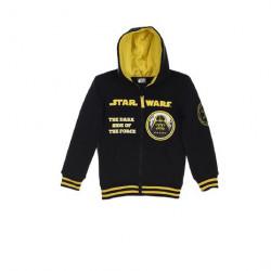 Grossiste veste zippée à capuche garçon star wars