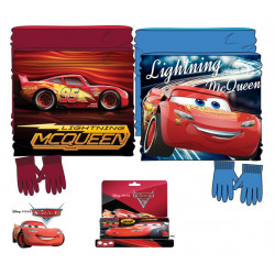 Grossiste ensemble snood et gants cars disney