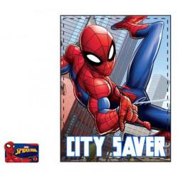 Grossiste plaid polaire spiderman assortiment 6