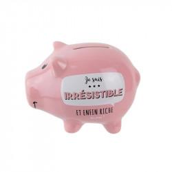 Grossiste et fournisseur. Tirelire en forme de cochon rose