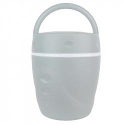 Grossiste et fournisseur. Lunchbox chaud et froid avec sa cuillère grise.