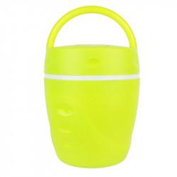 Grossiste et fournisseur. Lunchbox chaud et froid avec sa cuillère jaune.