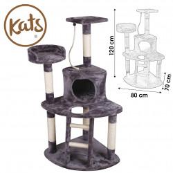 Arbre à chat gris - 120cm
