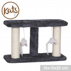 Grossiste griffoir à chat avec deux souris