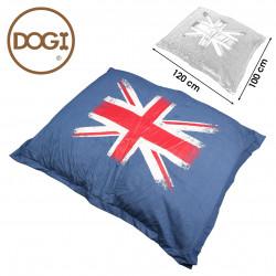 Coussin pour chien bleu...