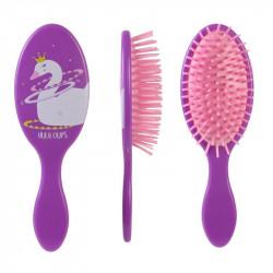 Grossiste brosse à cheveux pour enfant violette