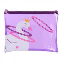 Grossiste pochette violette pour enfant 20x26cm