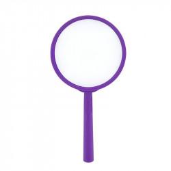 Grossiste et fournisseur. Loupe grossissante x2 violette.