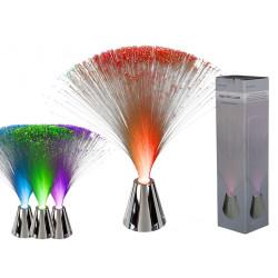 Lampe fibre optique à...