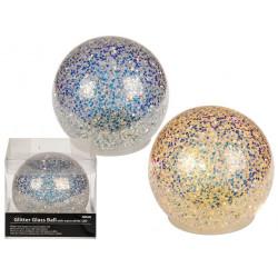 Boule décorative en verre...