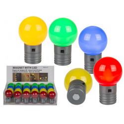 Lampe boule LED aimantée...