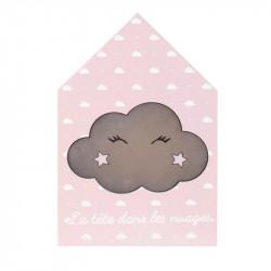 Grossiste décoration lumineuse maison en bois pour enfant spécial nuage