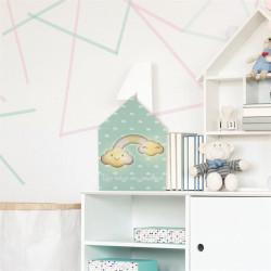 Grossiste décoration lumineuse maison en bois pour enfant