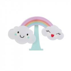 Grossiste veilleuse sticker murale en forme d'arc-en-ciel