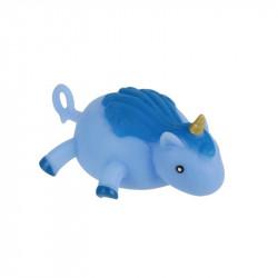 Grossiste et fournisseur. Ballon licorne à gonfler bleu.
