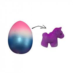 Grossiste œuf magique multicolore licorne violette