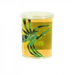 Grossiste pâte gluante jaune avec araignée
