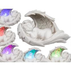 Ange en polyrésine aile LED
