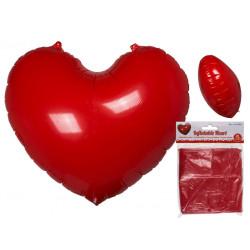 Coeur gonflable de 110 cm