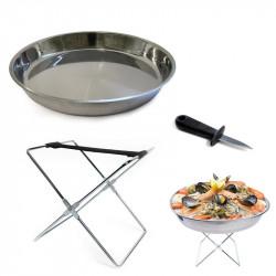 Buffet seafood serving kit...